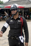 Policeman in an expansive mood