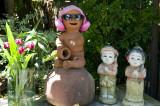 Whimsical garden ornaments