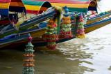 BANGKOK Longboats on the Chao Phraya