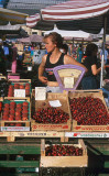 Cherries for sale, Central Market