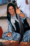 Fishwife at Sur, Oman