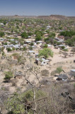 View over Mochudi, an hour north of Gaborone