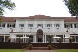 The grand old Victoria Falls Hotel