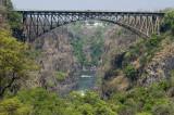 The Zambesi Gorge and bridge