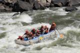 Rafting the Zambesi