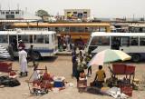 Zimbabwean bus terminal