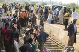Entering Bulawayo by train