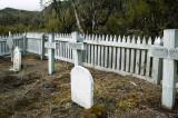 Graveyard at Hardwicke settlement, Erebus Cove