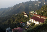 Mussoorie, a colonial-era hill station