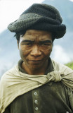 Sulphur mine worker, Ijen, East Java