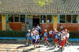 Schoolchildren at Wonosari, Malang