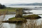 Castle Stalker on Loch Linnhe