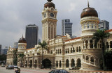 Sultan Abdul Samad Building, the former Colonial Secretariat