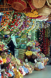 Flower stall in Chinatown
