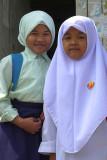 Malay schoolgirls, Kuala Lumpur