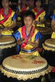 Chingay drummer boys from Penang