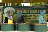 Waiting for the bus, Kota Bharu