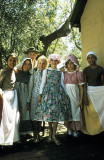 Re-enacting colonial times at Elizabeth Farm, founded 1793