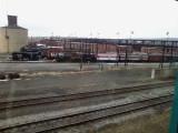 Behind Steamtown