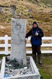 Sir Ernest Shackleton's Grave - Graf van Sir Ernest Shackleton