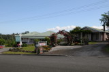 The bed and breakfast that I stayed at in Matakohe - very nice
