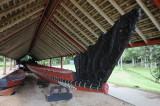 Waitangi War Canoe