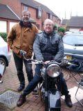 John and Stephen with Rebuilt BSA A10