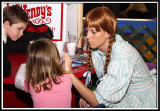 Face painting by Wendy's
