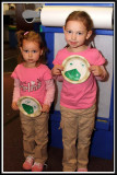 Green eggs and ham plates