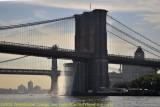 Artificial Waterfalls at Brooklyn Bridge