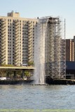 Artificial Waterfalls on East River