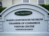Lighthouse Museum Sign