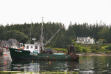 Commercial Boat at Port Clyde