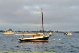 Boat in Mooring Field