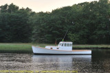 Boat on the Kennebunk River