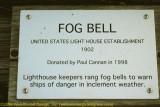 Fog Bell Sign