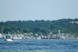 Looking Down Harbor at PortJefferson
