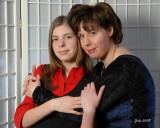 France et sa fille Sophie