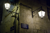 Lampes et rues