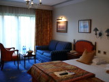 This beautiful room (room 718) overlooks the courtyard