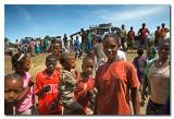 Llegada a una aldea Konso  -  Arrival to a Konso village
