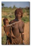 Mujer Hamer y su hijo  -  Hamer woman and child