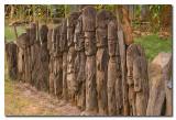 Totems funerarios Konso  -   Konso memorial wood carvings