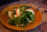 Indian Spinach Salad