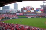 The Outfield from Section 160