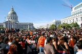 Giants Victory Parade at Civic Center Plaza