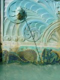 South Beach Art Deco Fountain