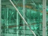 Port Of Miami Cruise Terminal Window Reflection