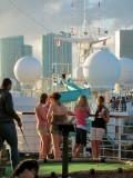 Cruise Underway from Sun Deck