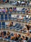 Lounging on the Lido Deck
